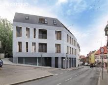Výstavba polyfunkčního domu - Praha